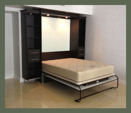 murphy bed also available with murphy bed over sofa combo image
