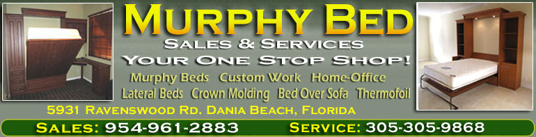 Murphy bed Services in Miami dade banner